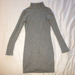Forever 21 Cut Out Back Sweater Dress